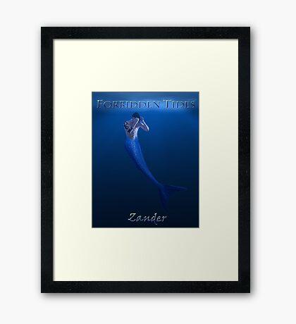 Forbidden Tides Zander Poster Framed Print