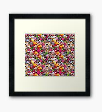 Kawaii galore Framed Print