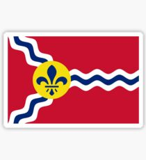 Flag of St. Louis  Sticker