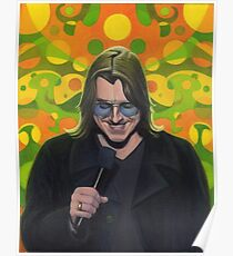 Mitch Hedberg Poster