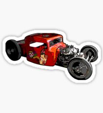 Rat rod  Sticker