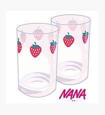 Nana - Strawberry glasses Photographic Print