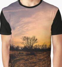 Panoramic Sunset Graphic T-Shirt