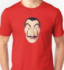 Dali mask Money heist Netflix Unisex T-Shirt