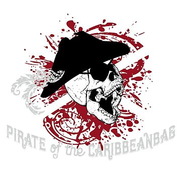 Captain Cornhole - Pirate of the Caribbeanbag by LADGraphics