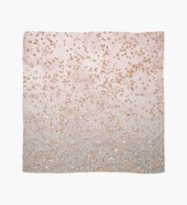 Mixed rose gold glitter gradients Scarf
