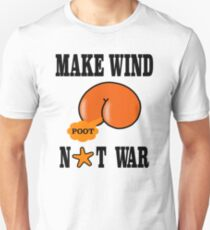 Make Wind Not War Unisex T-Shirt