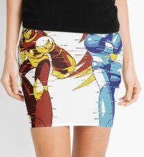 Mega Man And Zero 01 [Glitch Remix Ver] Mini Skirt