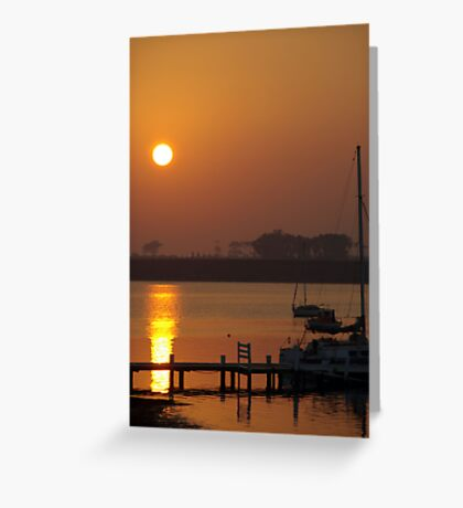 Sunrise @ the Lagoon Greeting Card