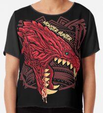 Odogaron Monster Hunter Chiffon Top