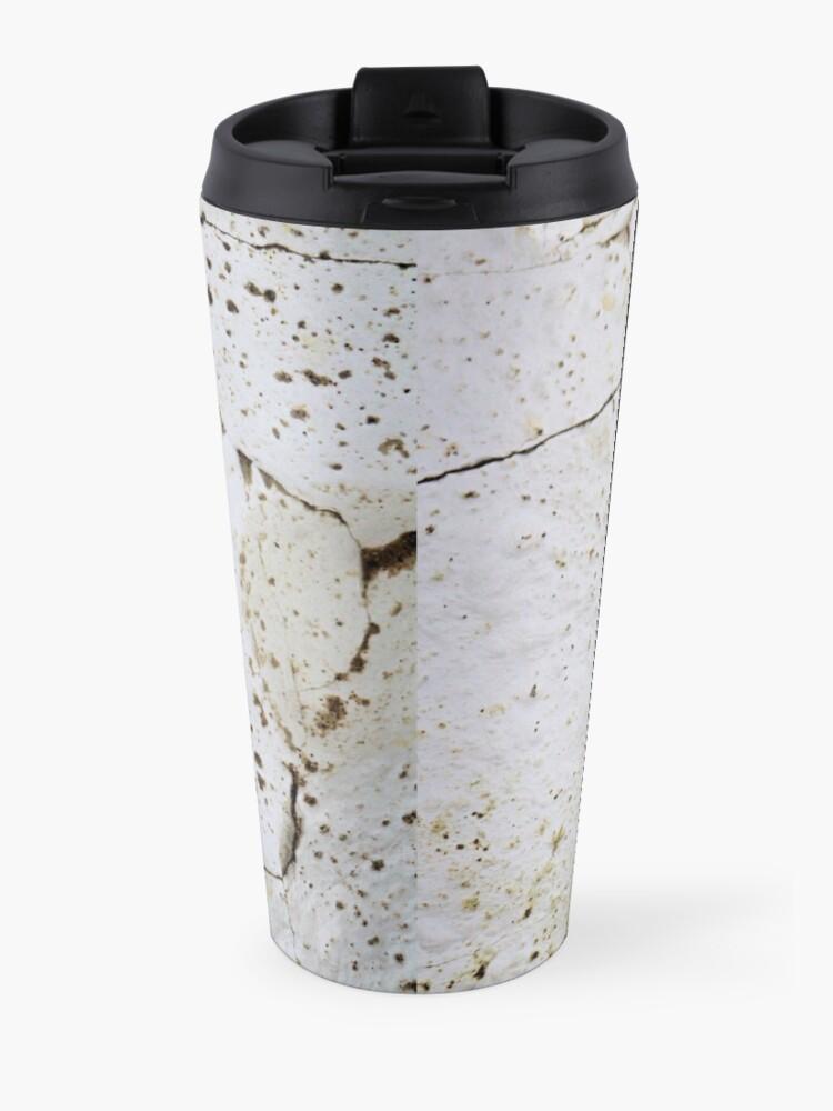 Alternate view of Cracked chalk Travel Mug