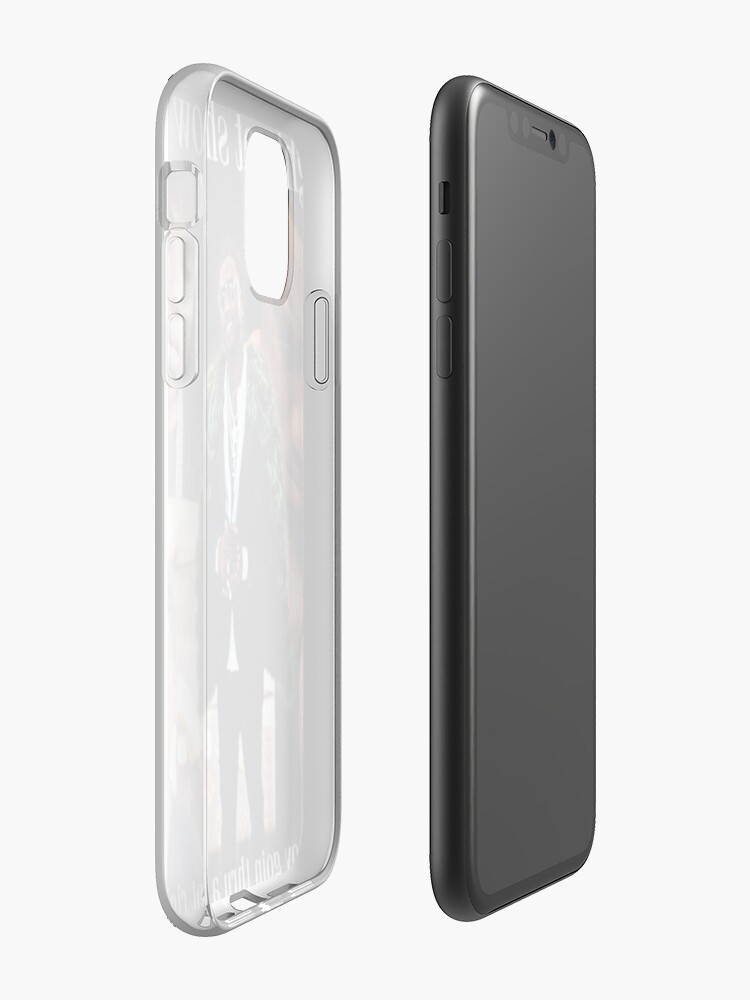 Coque iPhone « Ya boy goin thru beaucoup en ce moment », par Saxild
