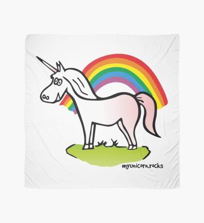 Unicorn and Rainbow Scarf