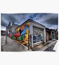 Enmore Street Art - Sydney Australia Poster