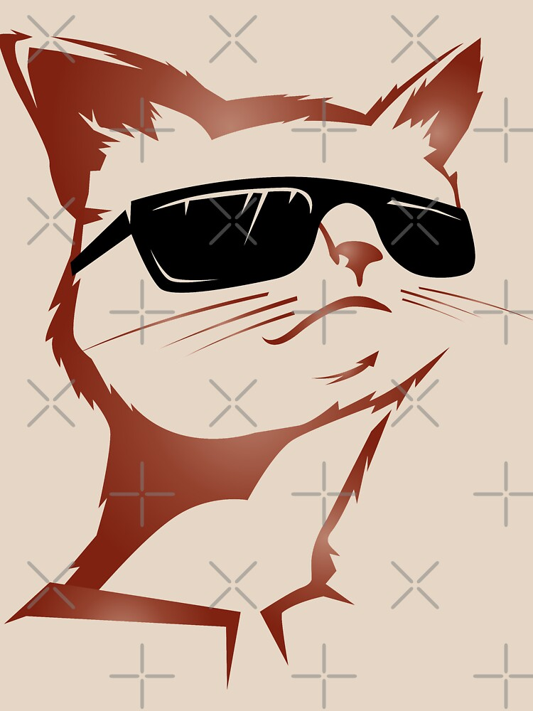 Cool cat with sunglasses by Sandra78