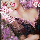 Marilyn Cherry Blossoms Pink by TheoDanella