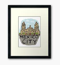 Mexico City Framed Print