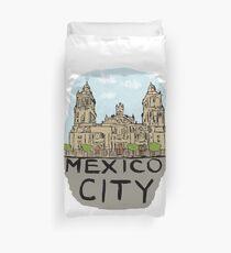 Mexico City Duvet Cover