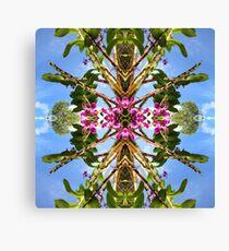 Tropical Kaleidoscapes 8 Canvas Print