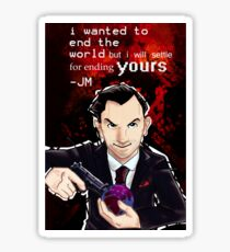 Moriarty- End your World.. Sticker