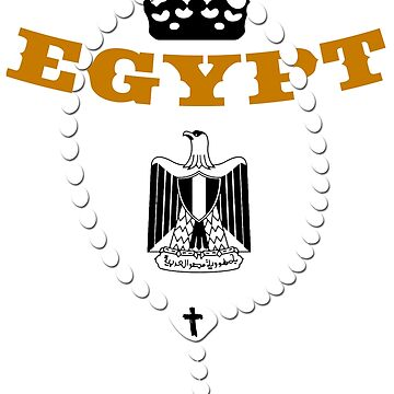 Egypt - Coat of Arms - Football - Soccer - Egypt Coat of Arms by lemmy666