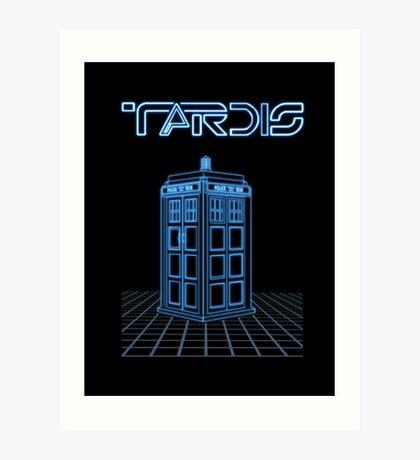 Retro Arcade Film Box  Art Print