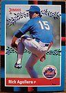002 - Rick Aguilera by Foob's Baseball Cards