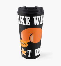Make Wind Not War Travel Mug