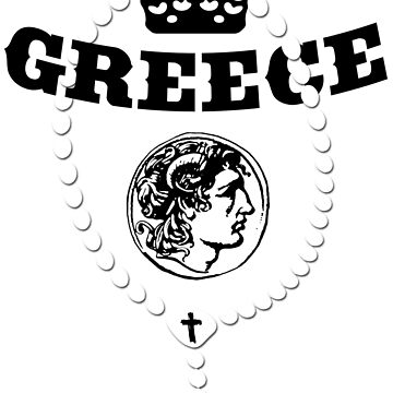 Greece - Coat of Arms - Football - Soccer - Greece Coat of Arms by lemmy666