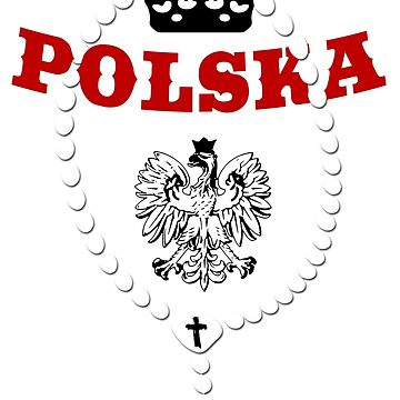 Polska - Coat of Arms - Football - Soccer - Poland Emblem by lemmy666