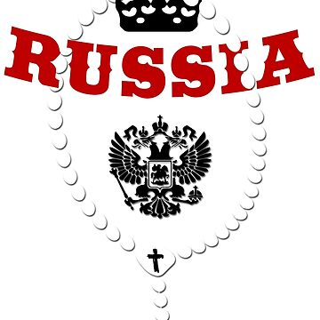 Russia - Coat of Arms - Football - Soccer - Russia - Coat of Arms by lemmy666