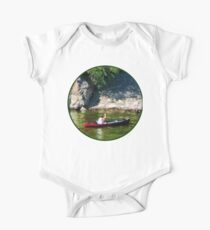 Canoeing in Paterson NJ One Piece - Short Sleeve
