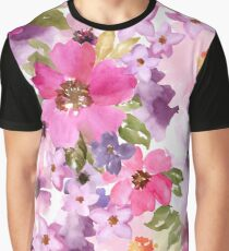 Beautiful seamless floral pattern Graphic T-Shirt
