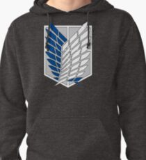 AOT - Survey corps logo Pullover Hoodie