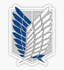 Pegatina AOT - Survey corps logo