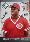 007 - Reggie Jefferson by Foob's Baseball Cards