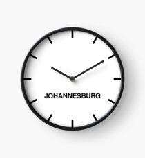 Johannesburg Zeitzone Newsroom Wanduhr Uhr