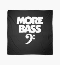 More Bass (White) Scarf