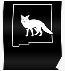 Fox Hunt Art Shirt New Mexico Fox Huntsman Poster