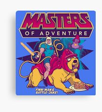 Masters of Adventure Canvas Print
