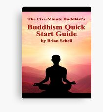 Buddhist Quick Start Guide Canvas Print