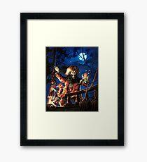 Monkey Island 2 LeChuck's Revenge (High Contrast) Framed Print