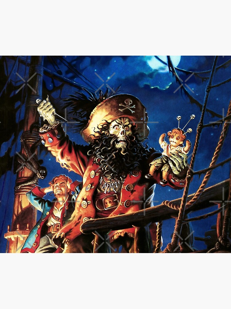 Monkey Island 2 LeChucks Rache (Hoher Kontrast) von hangman3d