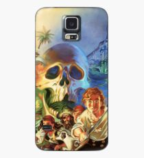 The Secret of Monkey Island 1 (High Contrast) Case/Skin for Samsung Galaxy