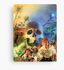 The Secret of Monkey Island 1 (High Contrast) Canvas Print