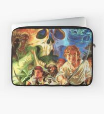 The Secret of Monkey Island 1 (High Contrast) Laptop Sleeve