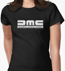 DeLorean Motor Company - White Clean Women's Fitted T-Shirt