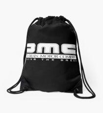 DeLorean Motor Company - White Clean Drawstring Bag