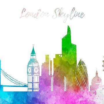 London Skyline Mug by 50Pxels