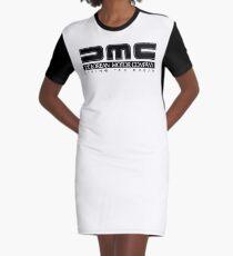 DeLorean Motor Company - Black Clean Graphic T-Shirt Dress